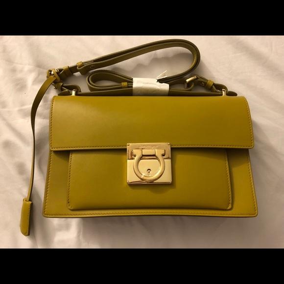 Salvatore Ferragamo Bags   Womens Aileen Brushed Leather   Poshmark ec55d61f2e